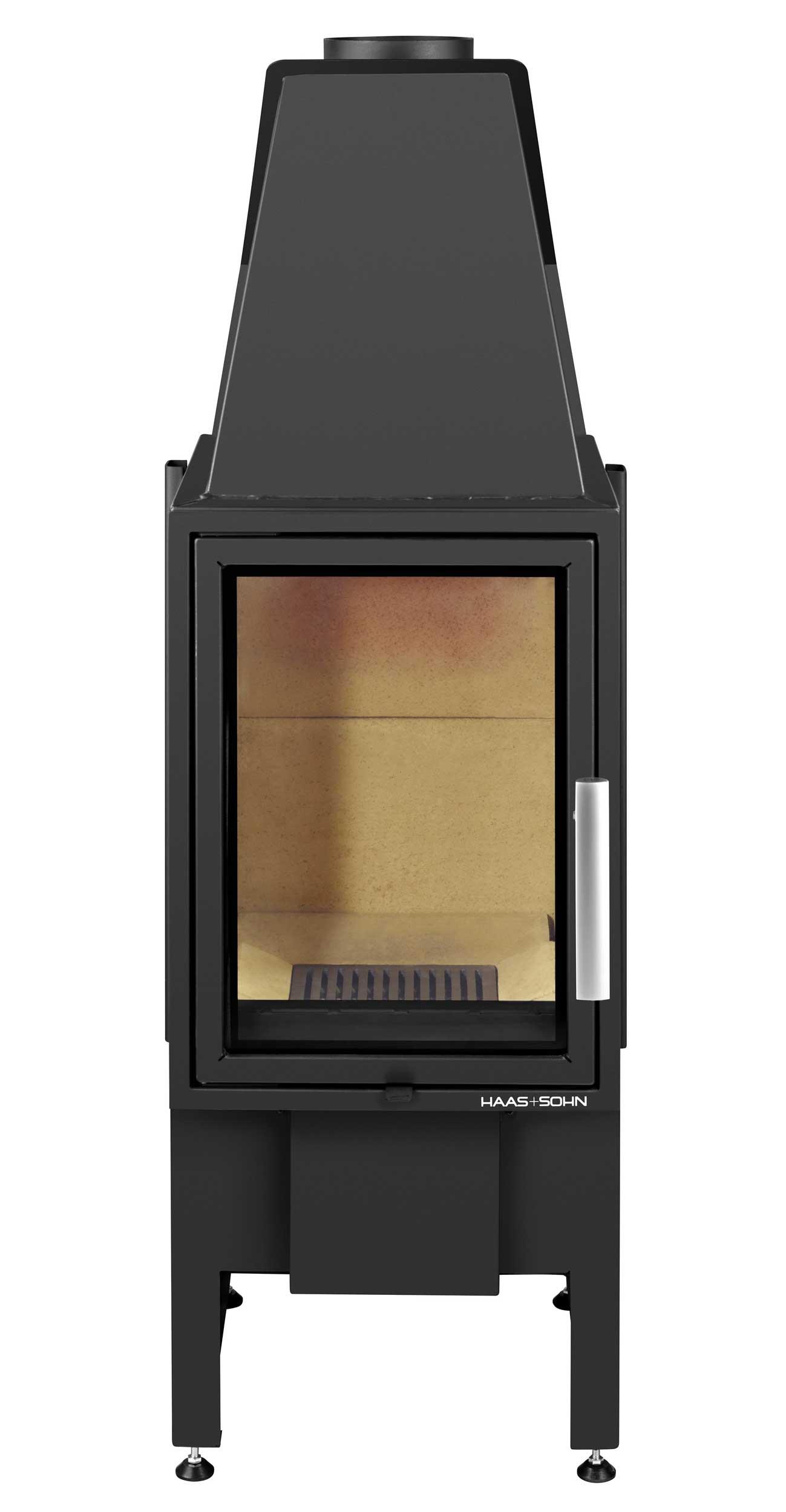 Kamineinsatz Haas+Sohn Esprit-IV 185.16 schwarz raumluftunabh. 7kW Bild 1