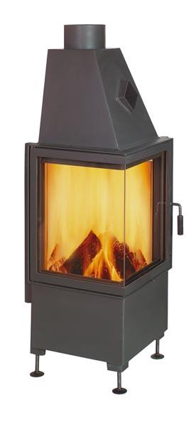 kamineinsatz hark radiante 500 57 k 8kw bei. Black Bedroom Furniture Sets. Home Design Ideas