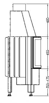 Kamineinsatz Hark Radiante 800/45 K 8 kW Bild 3