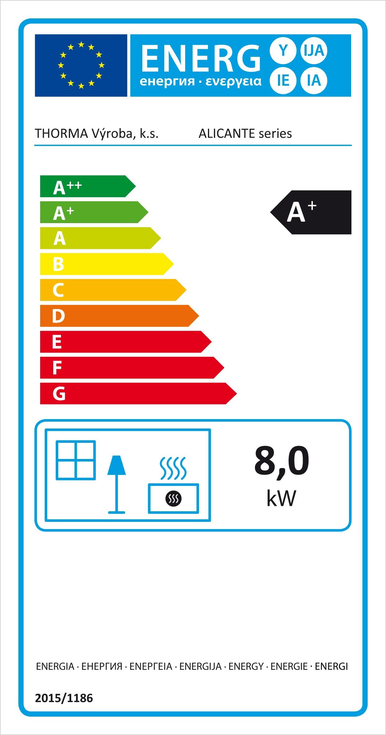 Kamineinsatz Thorma Alicante raumluftunabhängig 8 kW Bild 3