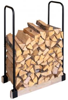 Holzregal / Holzstapelhilfe Lienbacher 90x34x119cm Bild 1