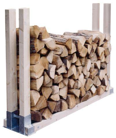 Holzstapelhalter feuerverzinkt Bild 2