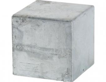 Pfostenabdeckung Cubic Plus 91x91mm verzinkt Bild 1
