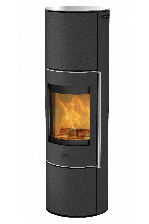 Kaminofen Fireplace Perondi RLU Glas raumluftunabhängig 5kW DIBt Bild 1
