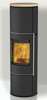 Kaminofen Fireplace Perondi RLU Sandstein raumluftunabhängig 5kW DIBt Bild 1