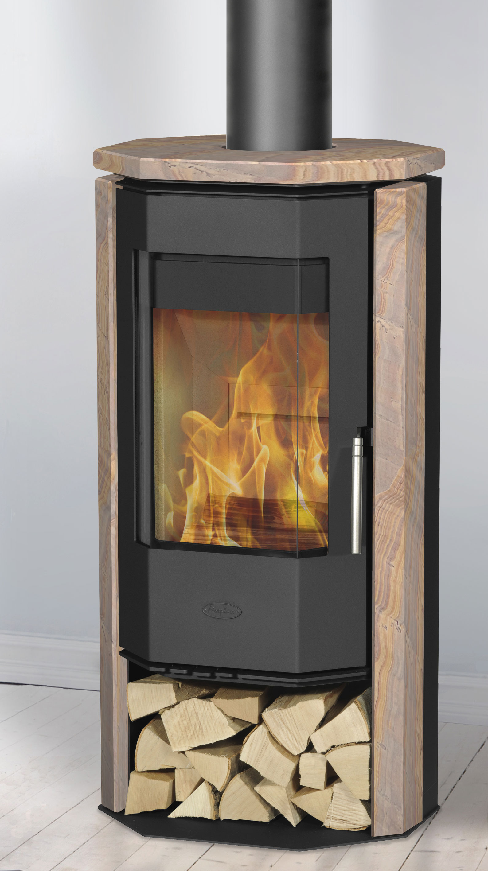 Kaminofen Fireplace Phönizia 2 raumluftunabhängig Loticstone 5kW Bild 1