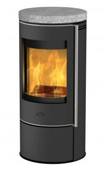 Kaminofen Fireplace Rondale Speckstein raumluftunabhängig 5kW Bild 1