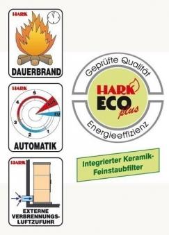 Dauerbrandofen Hark Avenso ECOplus jola-braun raumluftunabhängig 6 kW Bild 3