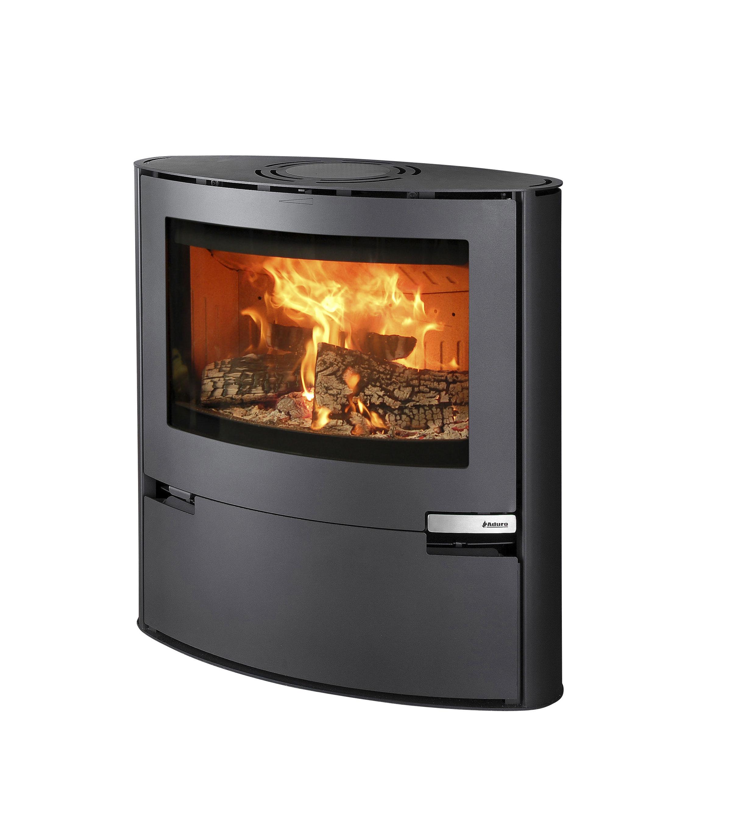 kaminofen aduro 15 schwarz 6 5kw bei. Black Bedroom Furniture Sets. Home Design Ideas