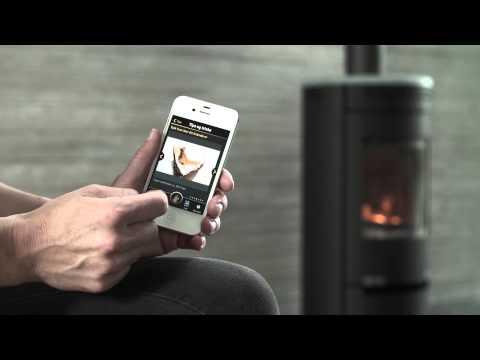 Kaminofen Aduro 9.7 schwarz Stahl Wärmespeichersteine 6kW Video Screenshot 1021