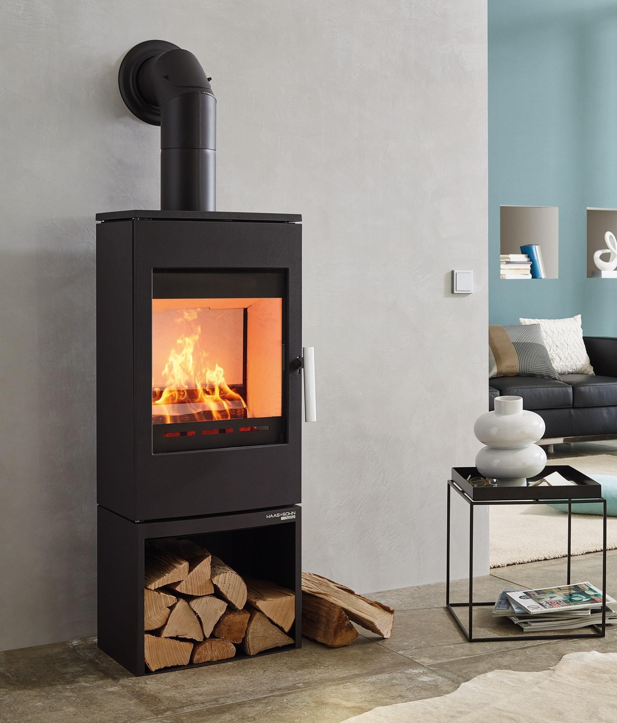kaminofen haas sohn gastein easy raumluftunabh. Black Bedroom Furniture Sets. Home Design Ideas