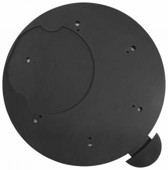 Dreh-Tableau für Justus / Oranier Kaminofen Ø 510mm gussgrau