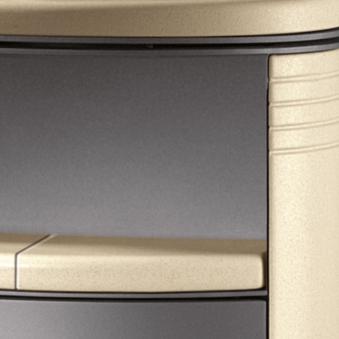 Kaminofen Justus Island 7 raumluftunabhängig Keramik Coretto 6,5kW Bild 3