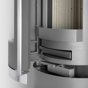 Kaminofen Justus Reno R raumluftunabhängig DIBt Stahl Dauerbrand 6 kW Bild 3