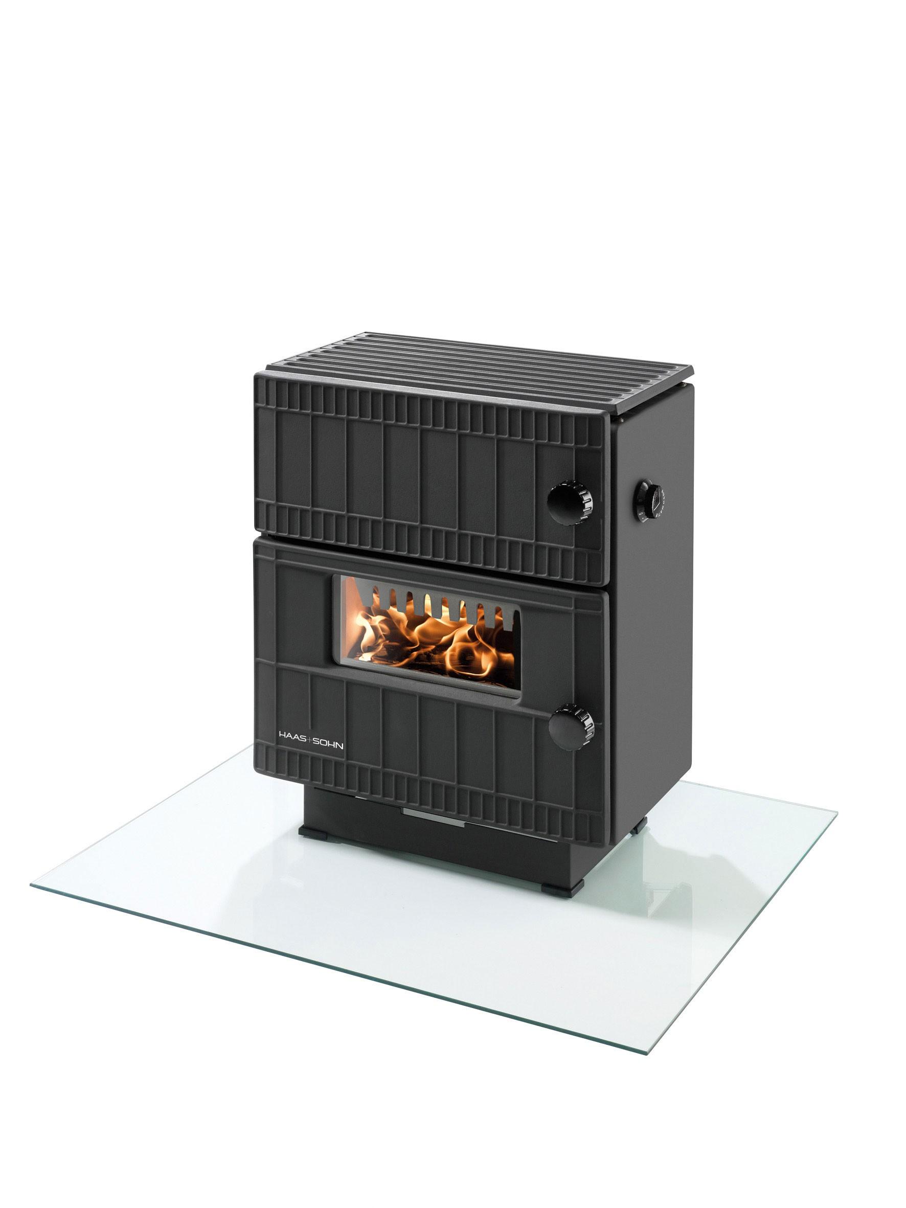 dauerbrandofen haas sohn bernau schwarz 7kw mit unterlegplatte bei. Black Bedroom Furniture Sets. Home Design Ideas
