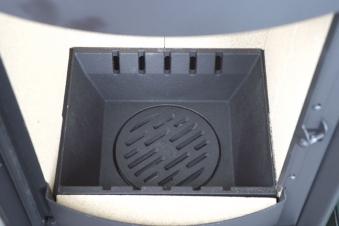 Kaminofen / Dauerbrandofen Hark Opera-B Grande Keramik creme 7 kW Bild 3