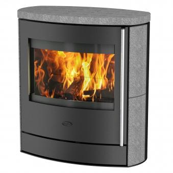 Kaminofen Fireplace Adamis raumluftunabhängig Speckstein 7kW Bild 1