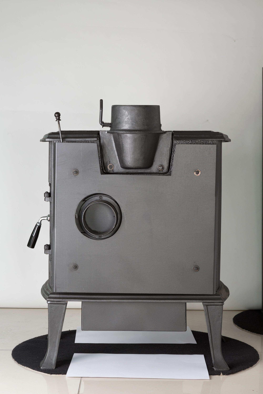 Kaminofen Globe-fire Orion raumluftunabhängig Guss schwarz 7kW Bild 6