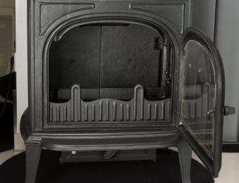 Kaminofen Globe-fire Orion raumluftunabhängig Guss schwarz 7kW Bild 7