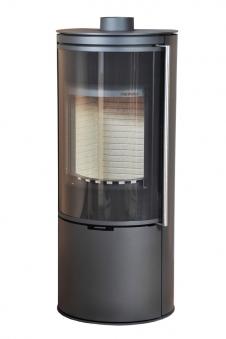 Kaminofen Thorma Toledo raumluftunabhängig Stahl schwarz 7,5 kW Bild 1