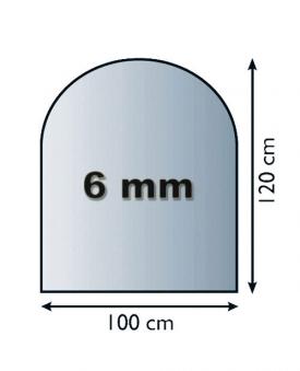 Speicherofen Oranier Panos Glasplatte Rohrset weiß 7kW Bild 5