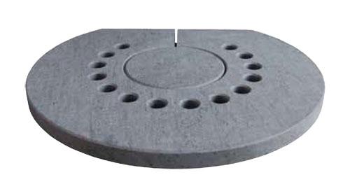 Abdeckplatte / Specksteintopplatte für Aduro Kaminofen 9 und 17 Bild 1