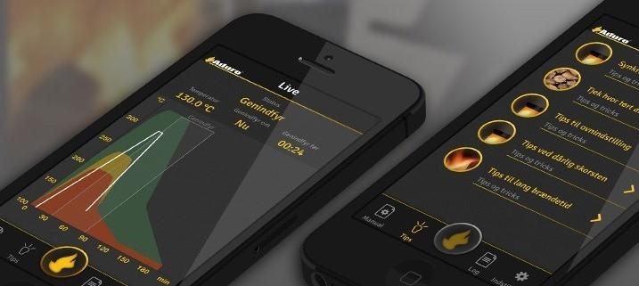 Aduro Smart-Response - Verbrennungsvorgang auf dem Handy prüfen Bild 1