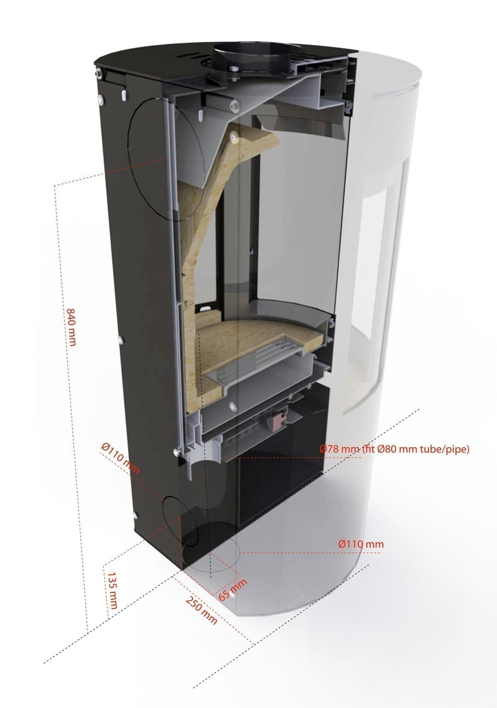kaminofen aduro 9 air schwarz stahl 3 scheiben. Black Bedroom Furniture Sets. Home Design Ideas