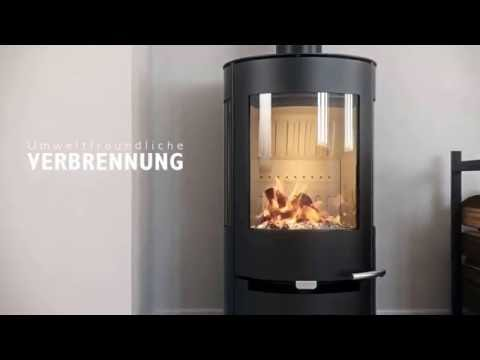 Kaminofen Aduro 9.4 schwarz Stahl 3 Scheiben 6kW Video Screenshot 1576