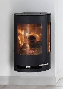 kaminofen aduro 9 4 schwarz stahl 3 scheiben 6kw bei. Black Bedroom Furniture Sets. Home Design Ideas