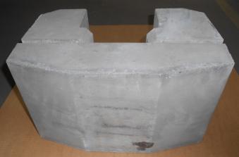Wärmespeicher System / Speicherstein 54 kg für Bartz Kaminofen Tirol