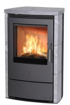 Kaminofen / Dauerbrandofen Fireplace Meltemi Speckstein 7/8kW Bild 1
