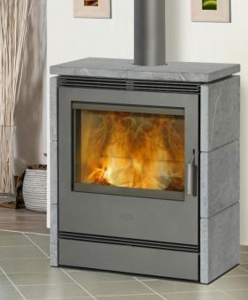 Kaminofen / Dauerbrandofen Fireplace Rönky Speckstein 9/10kW Bild 1