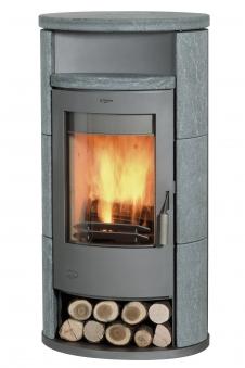 Kaminofen Fireplace Alicante Speckstein 8kW mit Teefach Bild 1