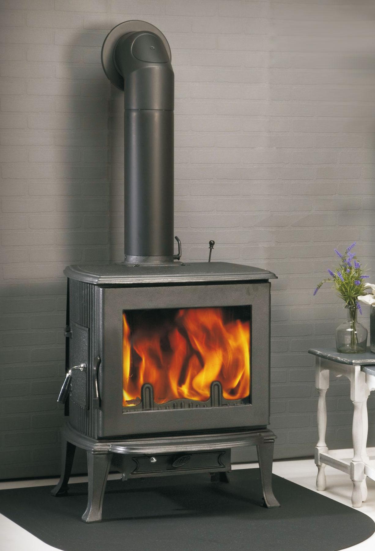 kaminofen globe fire jupiter raumluftunabh ngig guss. Black Bedroom Furniture Sets. Home Design Ideas