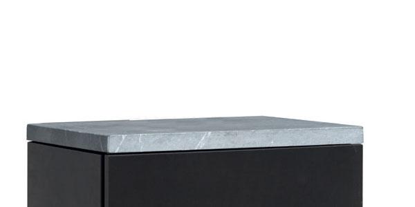 Haas+Sohn Topplatte mit Ans. hinten Kaminofen Gastein Easy Serpentino Bild 1