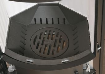 Dauerbrandofen Hark Avenso ECOplus meteor-schwarz raumluftunabh. 8kW Bild 4