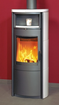 Kaminofen / Dauerbrandofen Hark Nika ECOplus creme-weiß 5 kW Bild 1