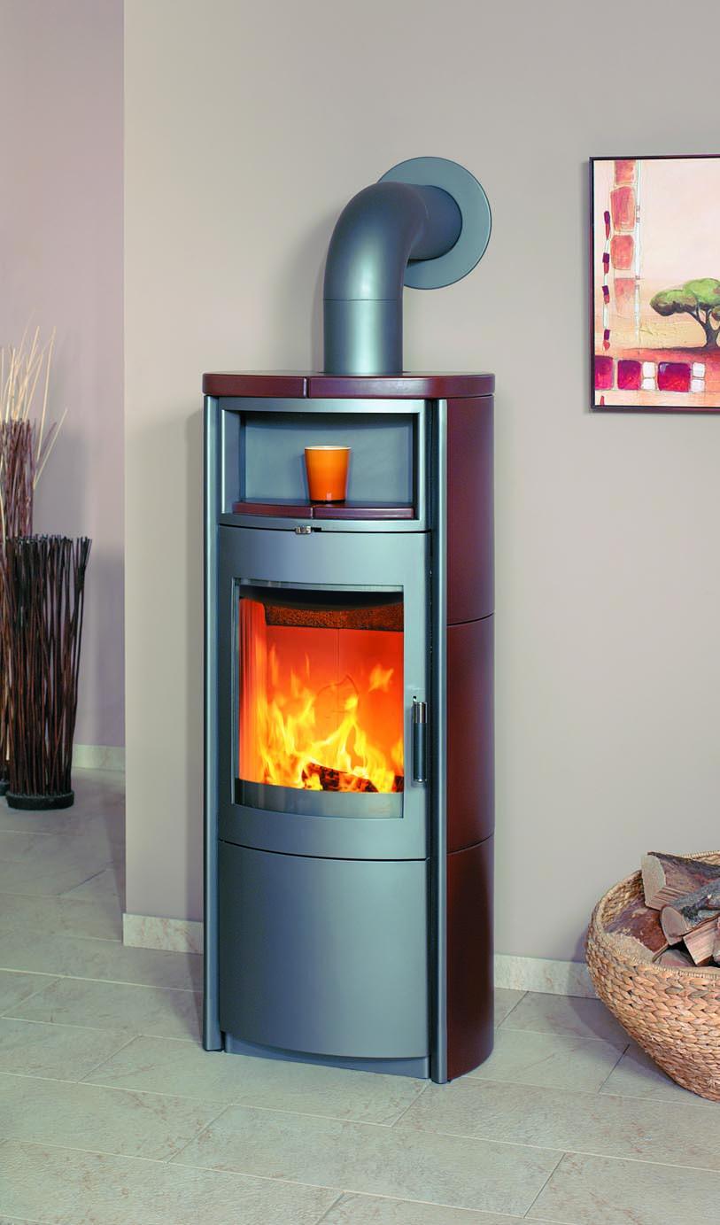 kaminofen dauerbrandofen hark nika ecoplus keramik jola braun 7 kw bei. Black Bedroom Furniture Sets. Home Design Ideas