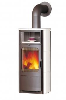 Kaminofen / Dauerbrandofen Hark Opera-B Keramik creme-weiß 5 kW Bild 1