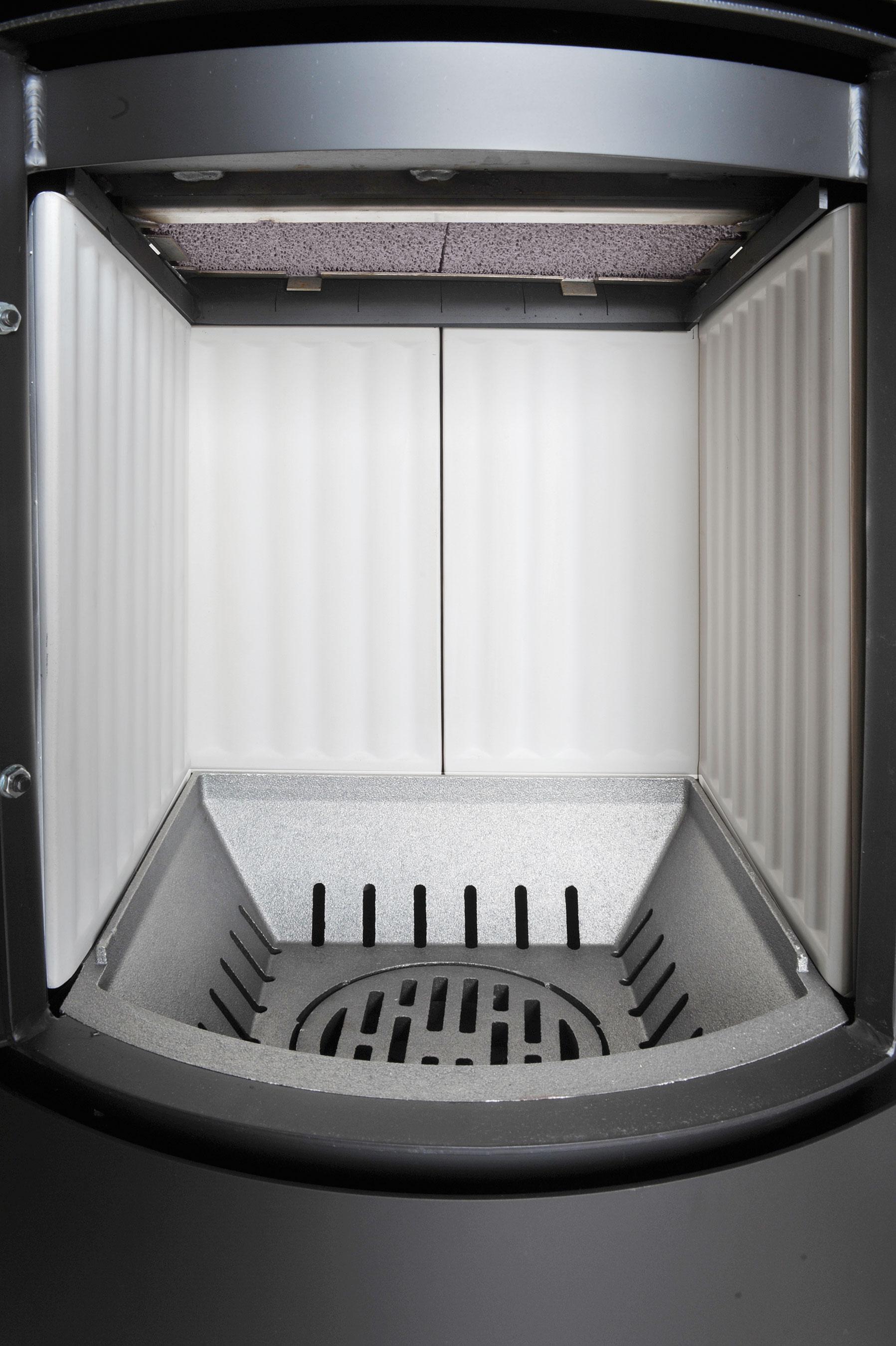 Kaminofen / Dauerbrandofen Hark Vito WW ECOplus wasserf. schw. 8,4kW Bild 4