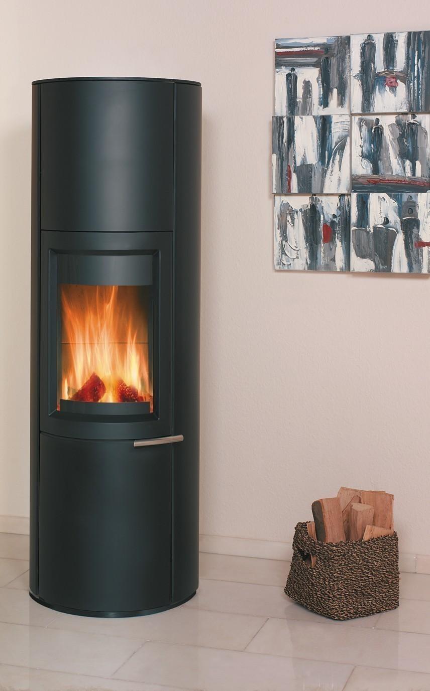 kaminofen dauerbrandofen hark zeno stahl graphit 5 kw. Black Bedroom Furniture Sets. Home Design Ideas
