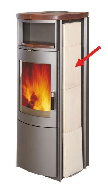 Thermospeicherstein groß für Kaminofen Hark Bild 1
