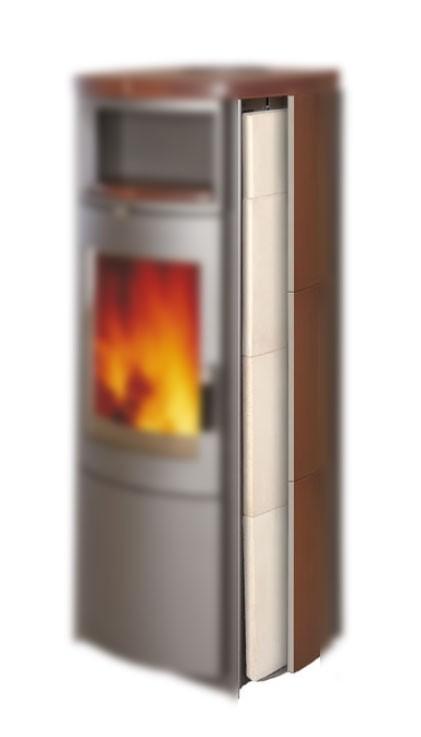Thermospeichersteine Nr.2 für Kaminofen Hark Bild 1