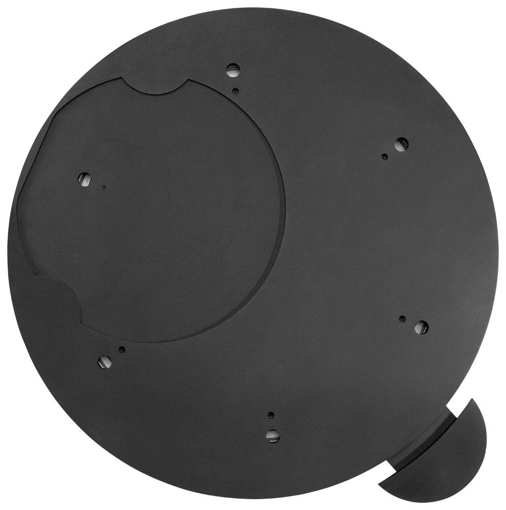 Dreh-Tableau für Justus / Oranier Kaminofen Ø 460mm schwarz Bild 1