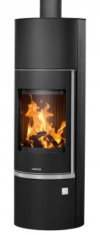 Kaminofen Justus Faro Aqua 2.0 wasserführend Stahl schwarz 8,5kW Bild 1