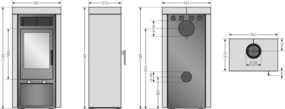 kaminofen justus sylt raumluftunabh ngig schwarz speckstein 6 kw bei. Black Bedroom Furniture Sets. Home Design Ideas