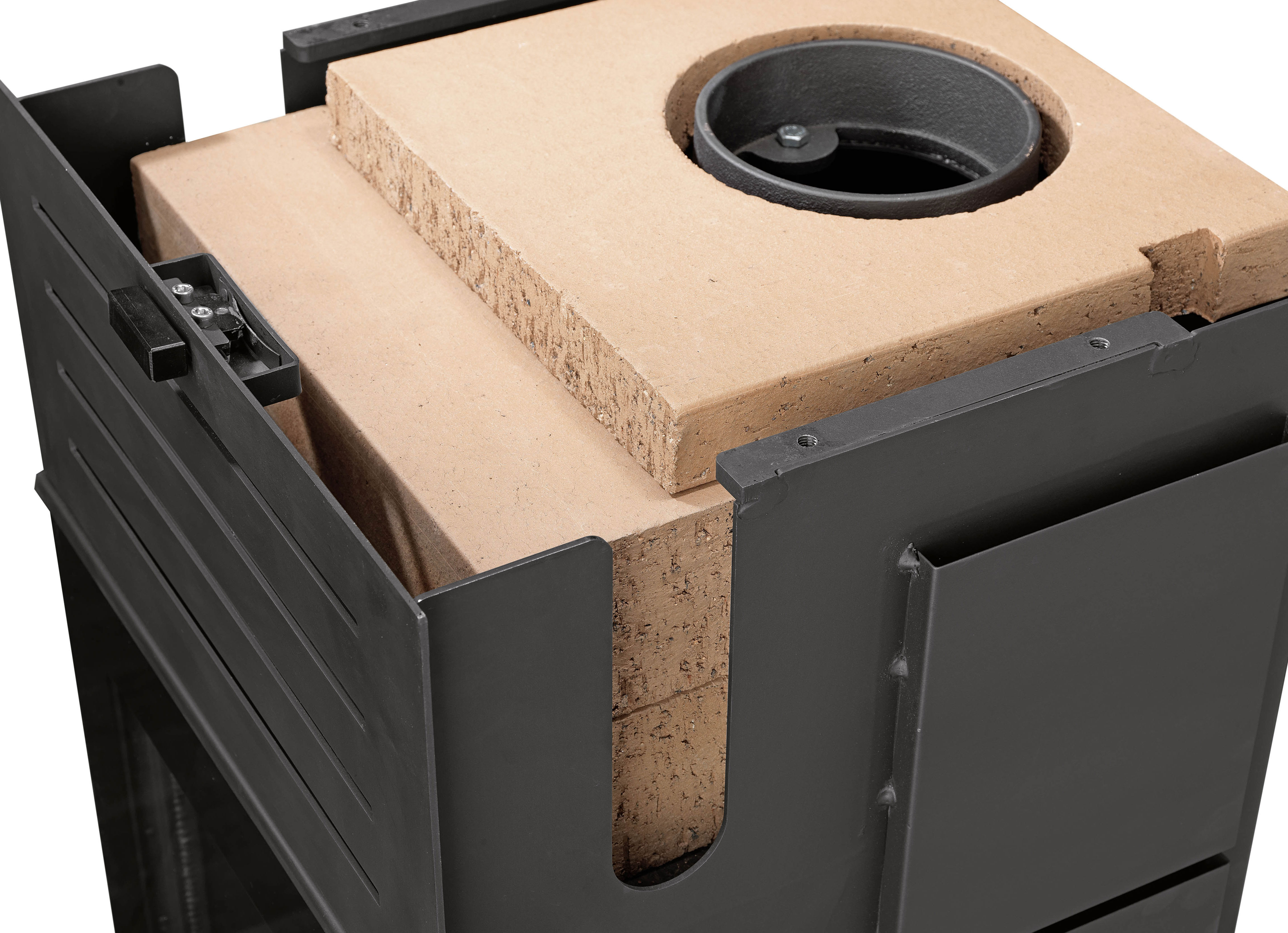 kaminofen justus sylt w rmeplus raumluftunabh ngig sandstein 6 kw bei. Black Bedroom Furniture Sets. Home Design Ideas