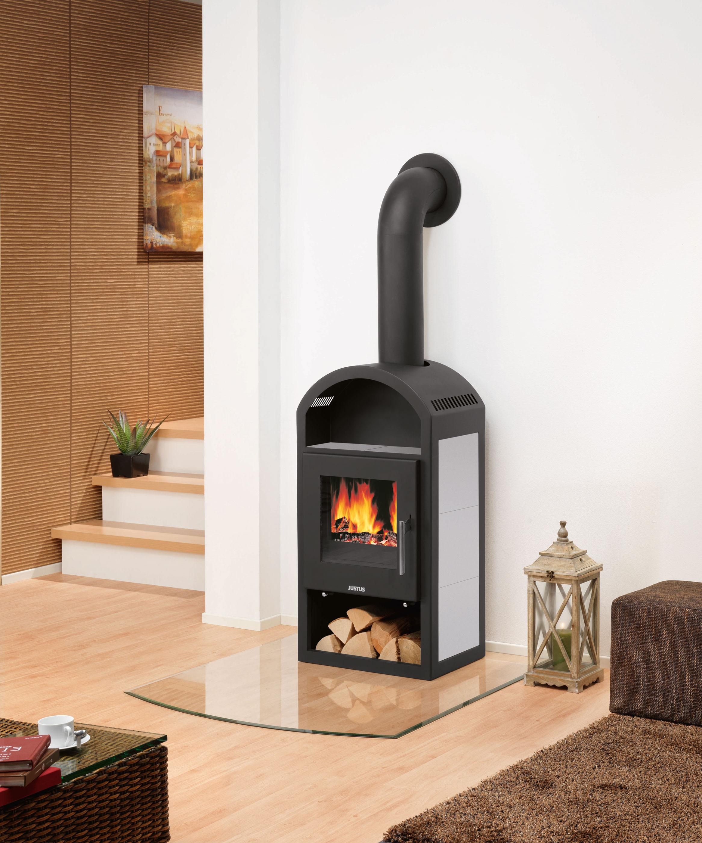 kaminofen justus vegas keramik grau 6kw bei. Black Bedroom Furniture Sets. Home Design Ideas