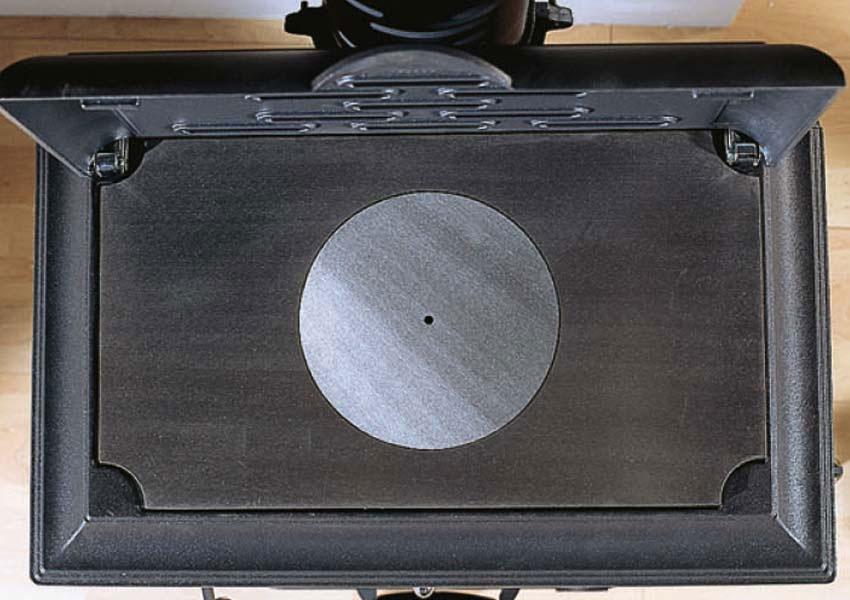 kaminofen gussofen la nordica isetta mit kochplatte 7 kw. Black Bedroom Furniture Sets. Home Design Ideas